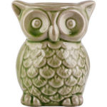 Scented Candle Shop Owl Ceramic Tart Warmer