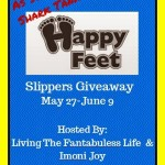 happy Feet Slippers Giveaway by 2 fun bloggers!!