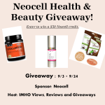 Blogger Opportunity – Neocell Health & Beauty Giveaway