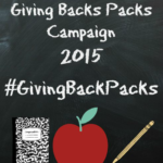 Back to School Giving Backpacks Event