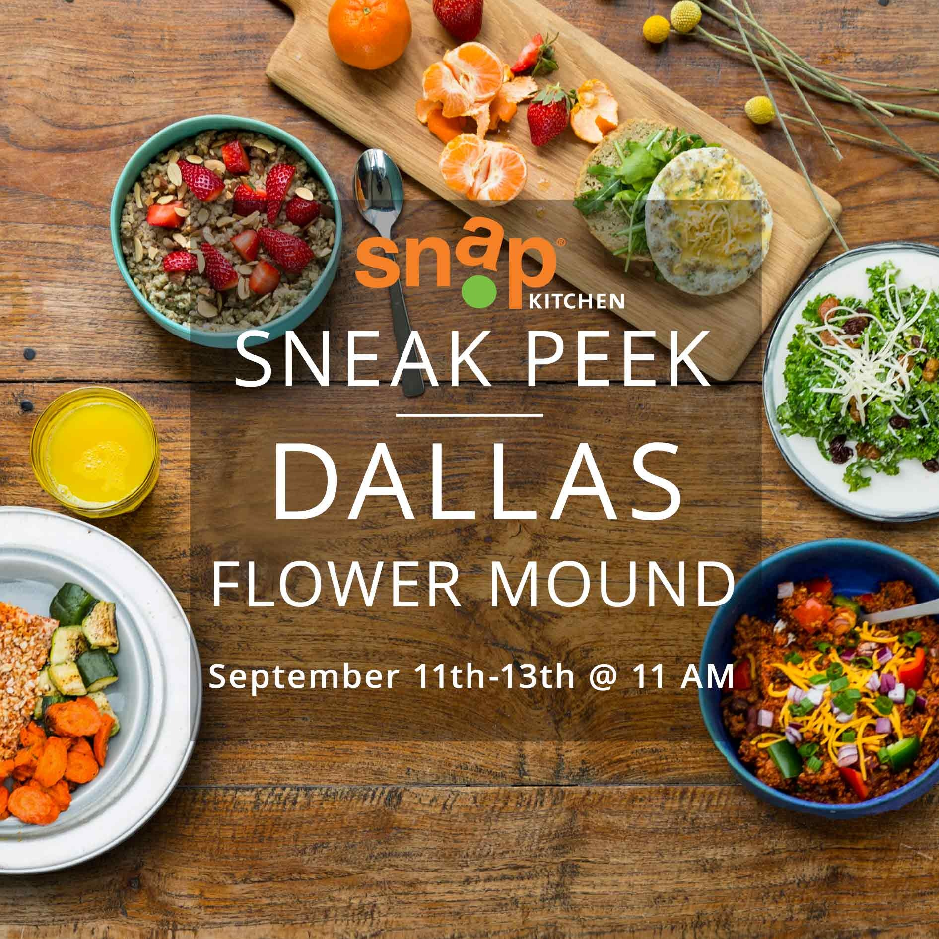 Snap Kitchen Sprouts New Location In Flower Mound