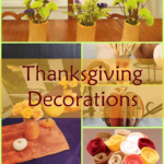 Thanksgiving Decorations you can make.