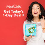 ModCloth has a whole week's worth of mystery offers up their sleeves!!