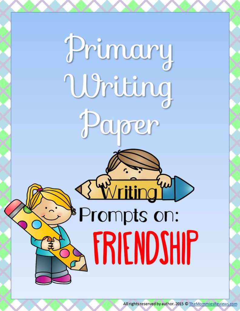 Free Printable Grades 2 and 3 Writing Paper