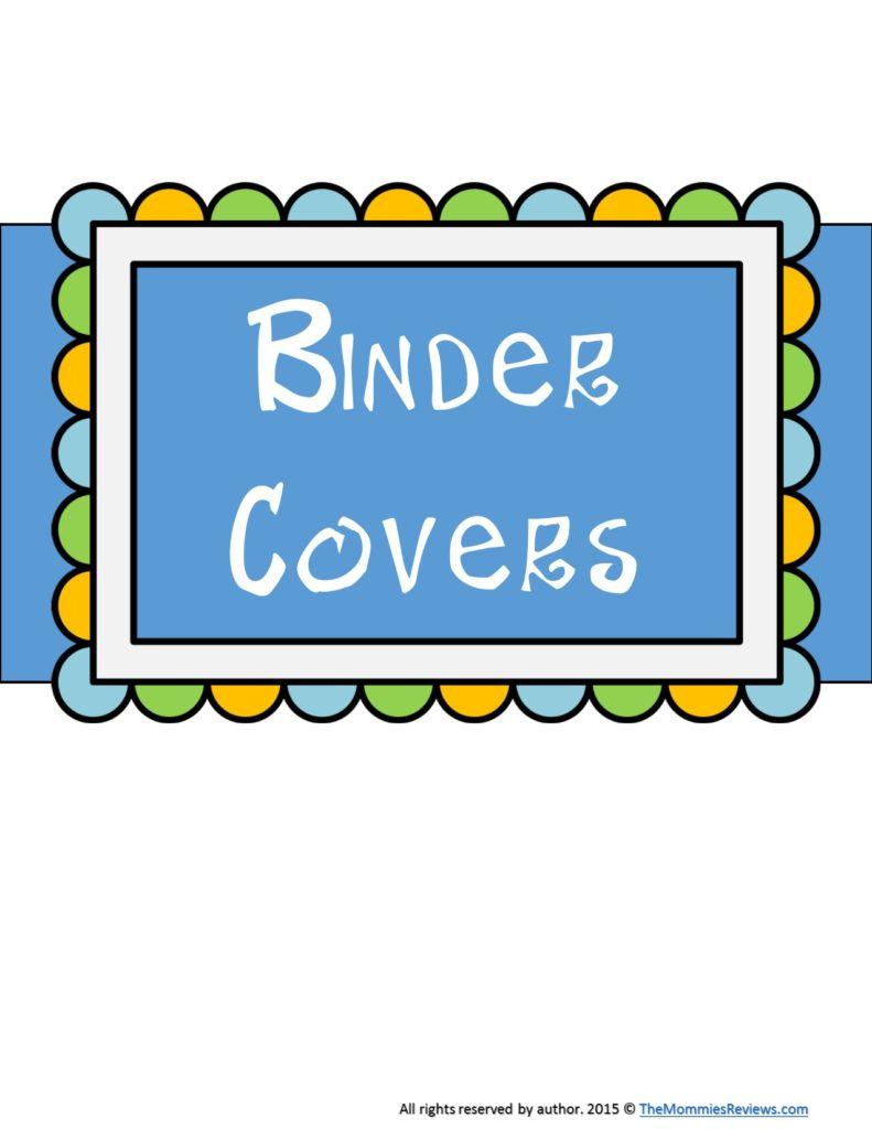 Mommies Reviews Binder Covers