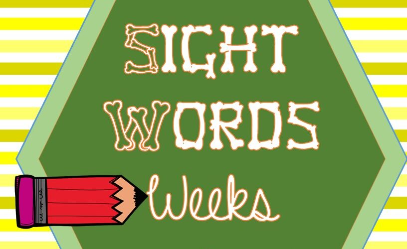 Homeschool Resource Sight Words 7,8 and 9 for 2nd grade