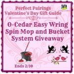 O-Cedar Easy Wring Spin Mop and Bucket System Giveaway