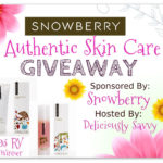 Snowberry Authentic Skin Care Giveaway