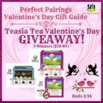 The Teasia Tea Valentine's Day Giveaway!