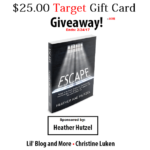 $25.00 Target Gift Card Giveaway