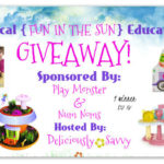 "Blogger Opp ~ Magical ""Fun In The Sun"" Educational Giveaway"