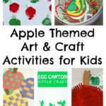 Apple Themed Fine Motor & Toddler Activities