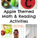 Apple Themed Math & Reading Activities