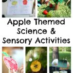Apple Themed Science & Sensory Activities
