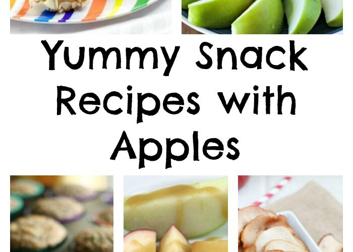 Yummy Snack Recipes With Apples