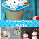 15 Snowman Snacks to Melt For