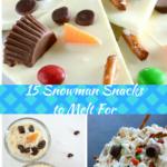 15 Snowman Snacks to Melt For