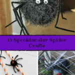 15 Spooktacular Spider Crafts