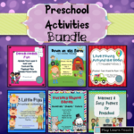 Preschool Activities Pack 6 in 1