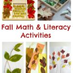 Fall Math & Literacy Activities Featuring Leaves