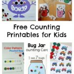 Free Counting Printables for Kids