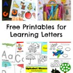Free Printables for Learning Letters