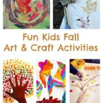 Fun Kids Fall Art & Craft Activities Using Leaves