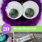 20 Marvelous Monster Crafts