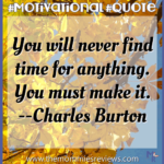 Motivational Quote Charles Burton