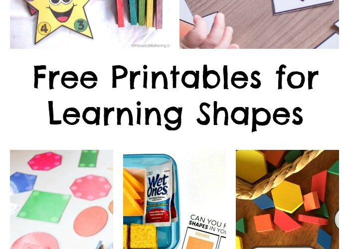 Free Printables for Learning Shapes