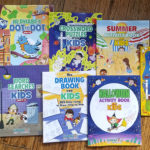 Woo! Jr. Kids Activity Books & Giveaway