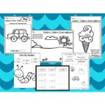 250 Preschool Learn Our Colors Worksheets