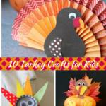 10 Turkey Crafts for Kids