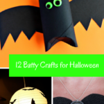 12 Batty Crafts for Halloween
