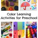 Color Learning Activities for Preschool