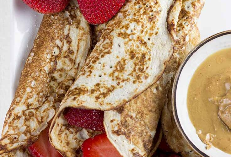 Gluten Free Tuesday Features Low Carb Cottage Cheese Pancakes