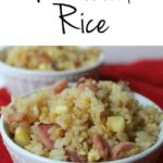 Gluten Free Tuesdays Ham Fried Rice