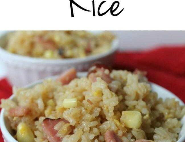 Gluten Free Tuesdays Ham Fried Rice