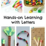 Hands-on Learning with Letters