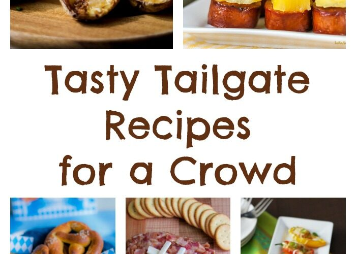 Tasty tailgate recipes for a crowd mommies reviews for Easy tailgating recipes for a crowd