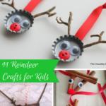 11 Reindeer Crafts for Kids