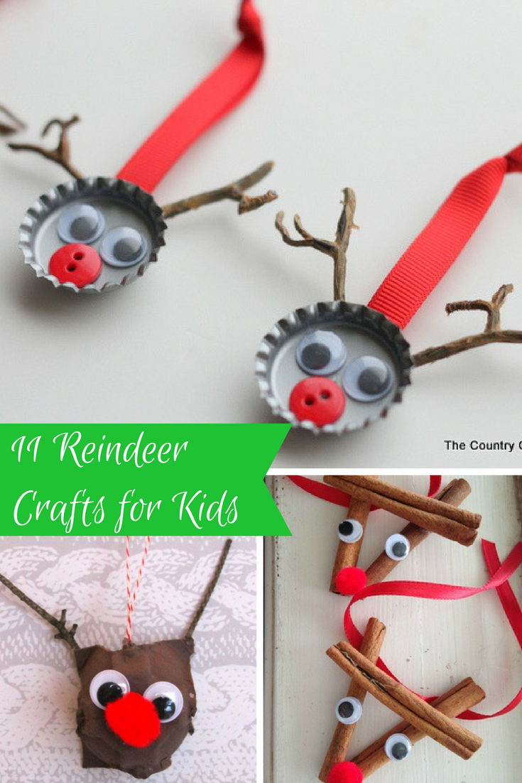 11 reindeer crafts for kids mommies reviews for Reindeer project