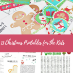 13 Christmas Printables for the Kids