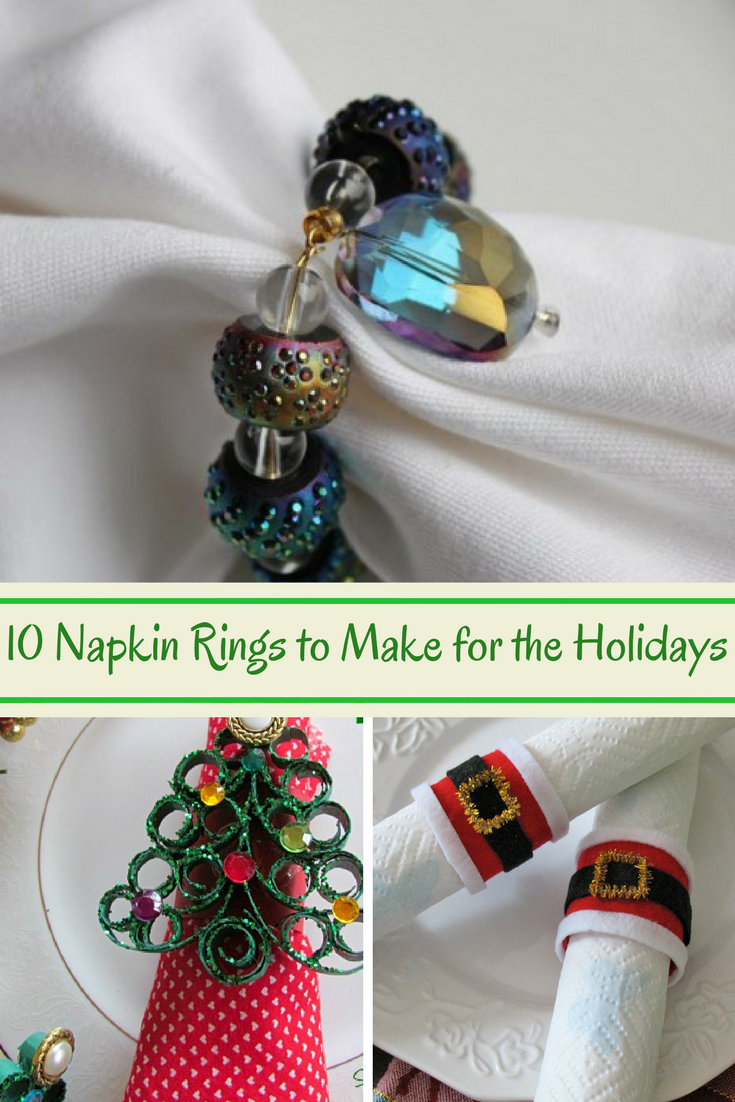 10 Napkin Rings To Make For The Holidays The Mommies Reviews