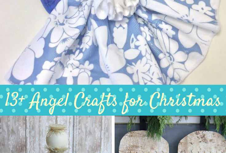 13+ Angel Crafts for Christmas