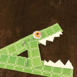 Craft Time: A Is for Alligator