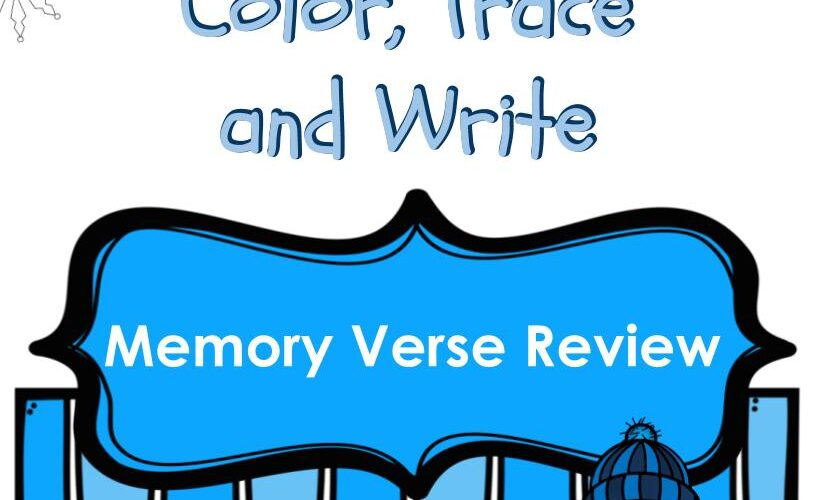 Memory Verse Review January And February Mommies Reviews